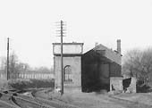 A close up of the GWR single road Branch Engine Shed sited at Alcester