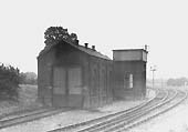 The Alcester Branch Engine Shed seen from the Alcester Branch