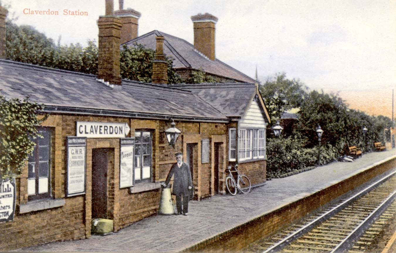 Claverdon Station View Of Claverdon Station Under Gwr