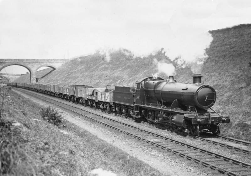 Hatton Bank Gwr 28xx Class 2 8 0 No 2840 Is Seen