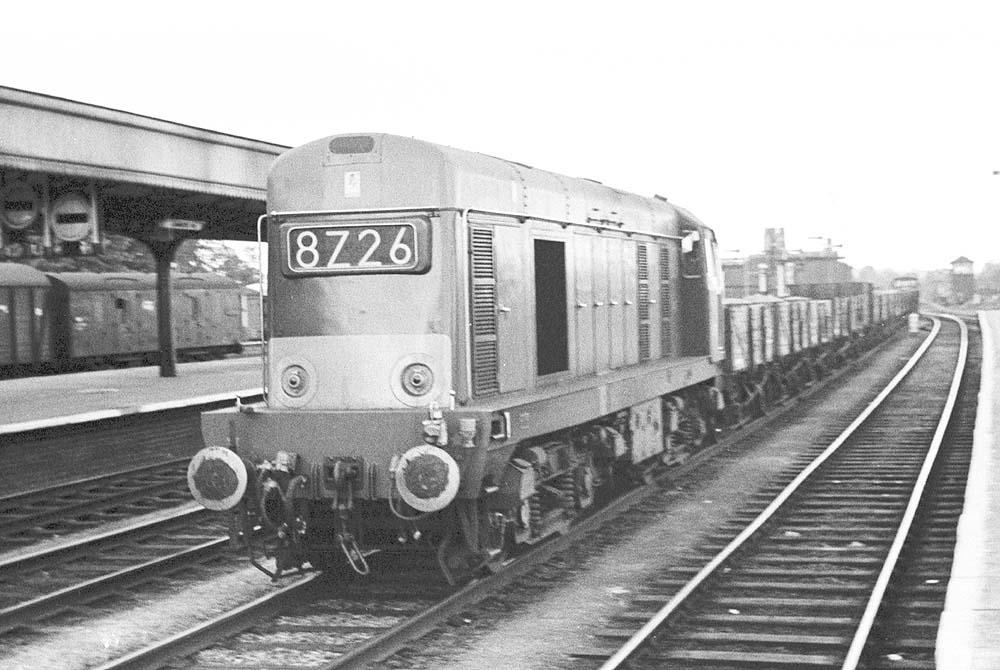 Leamington Spa Br Locomotives An Unidentified English
