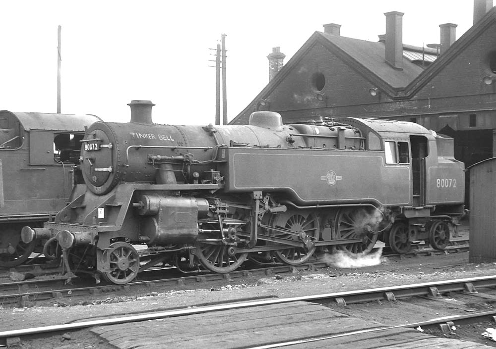 Leamington Shed British Railways Standard Class 4mt 2 6
