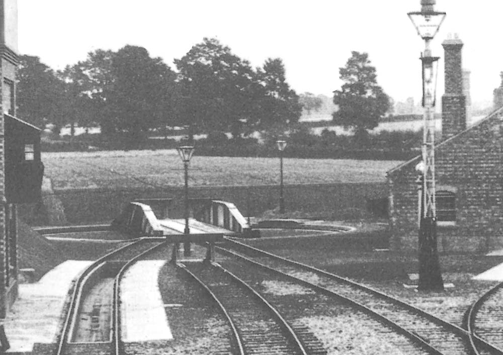 Leamington Spa Station Close Up Showing The 65 Ft Over