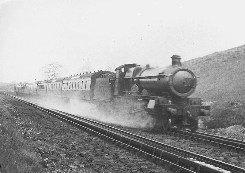 Rowington Junction Amp Troughs Gwr 4 6 0 Saint Class No