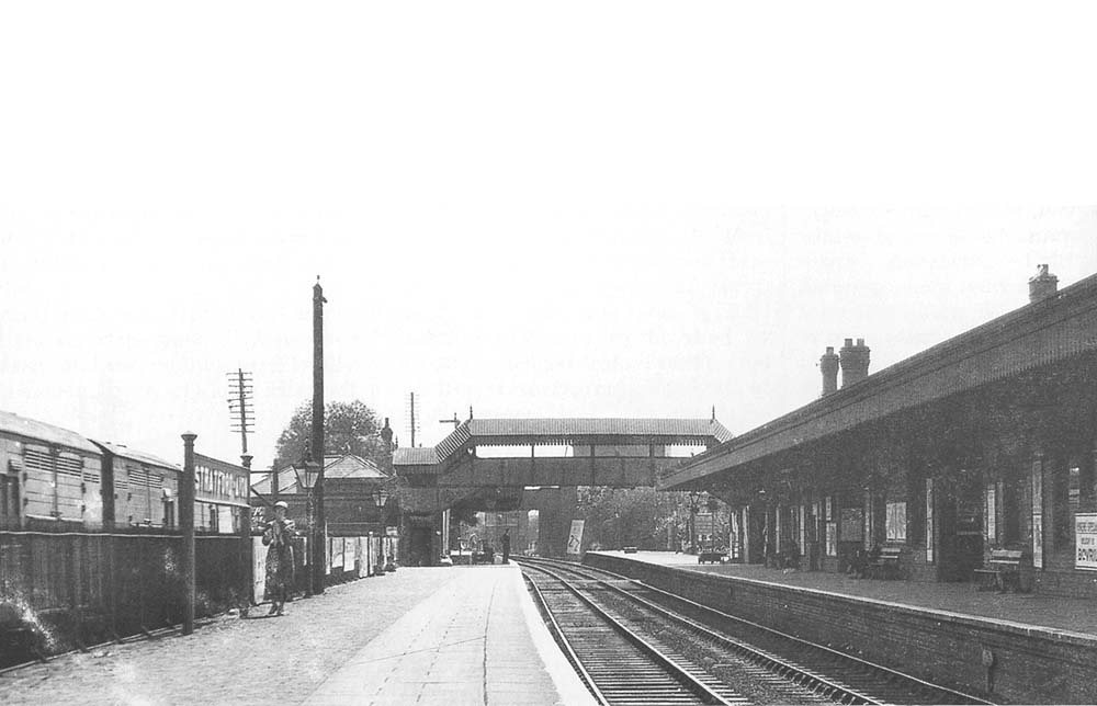 Stratford on avon station looking towards alcester road for Mitchell s fish market birmingham