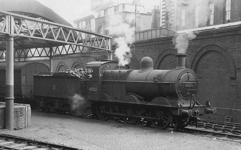 Birmingham New Street Station Br Period Locomotives Ex