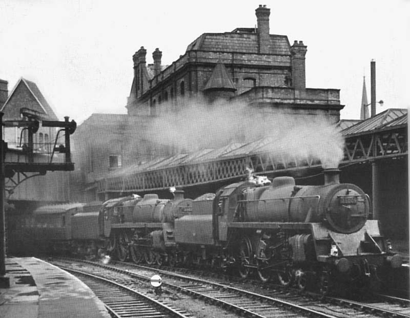 Birmingham New Street Station - BR Period Locomotives