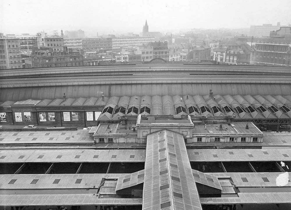 Birmingham New Street Station An Early 1960s Elevated
