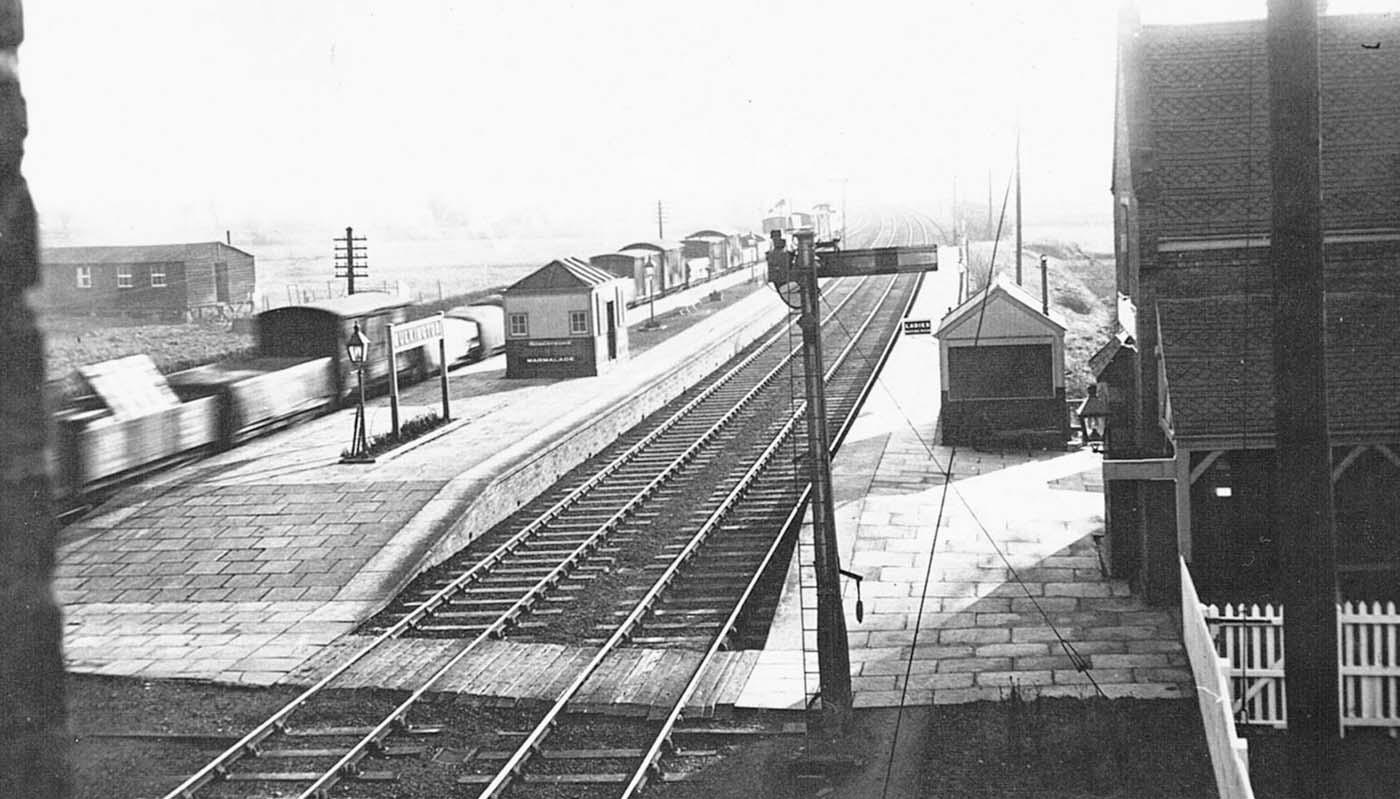 Bulkington Station View Of Bulkington Station From The