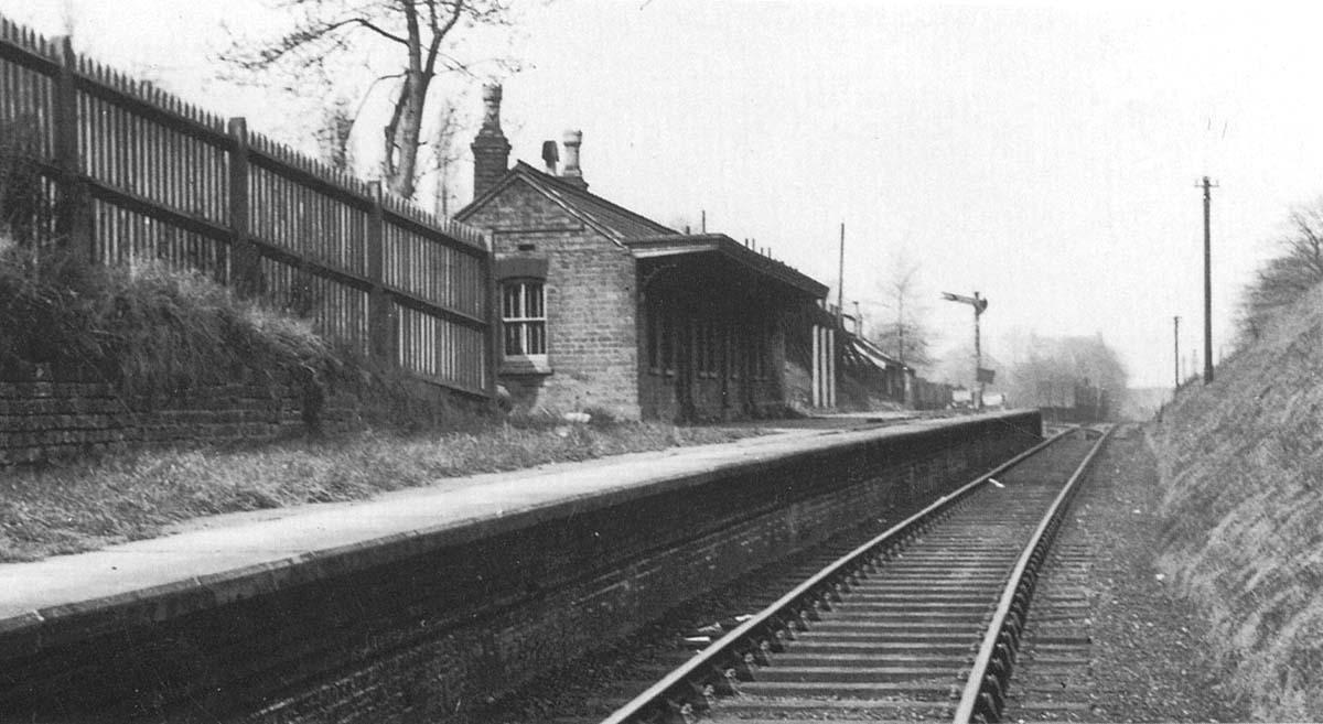 Hagley Road Station Looking Towards Rotton Park Road