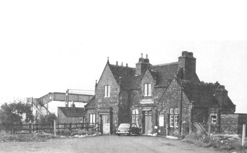 Polesworth Station A Late British Railways View Of The