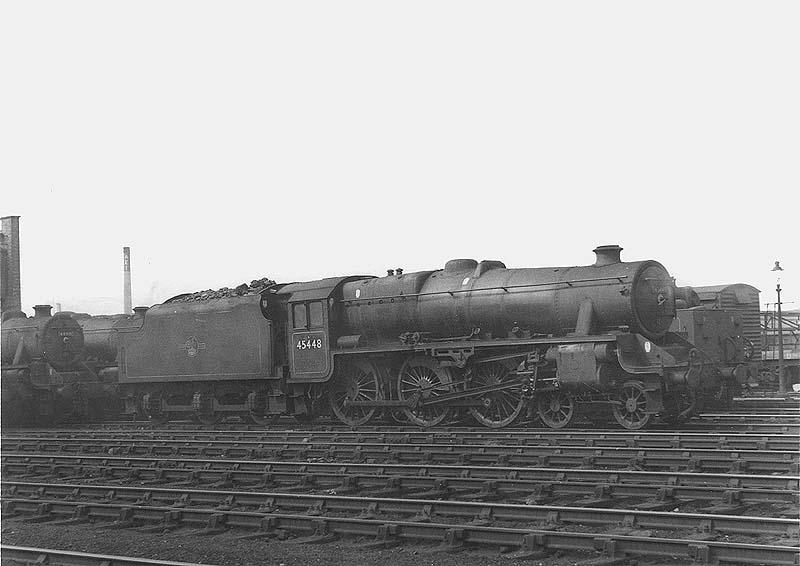 Rugby Station - BR Period Locomotives - Ex-LMS 4-6-0 Black 5