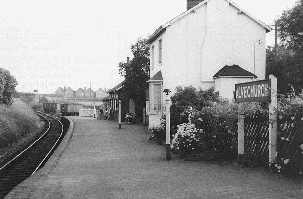 Alvechurch Station Looking Along Alvechurch Station