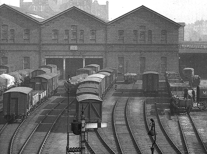 Birmingham Central Goods Station Close Up Showing The
