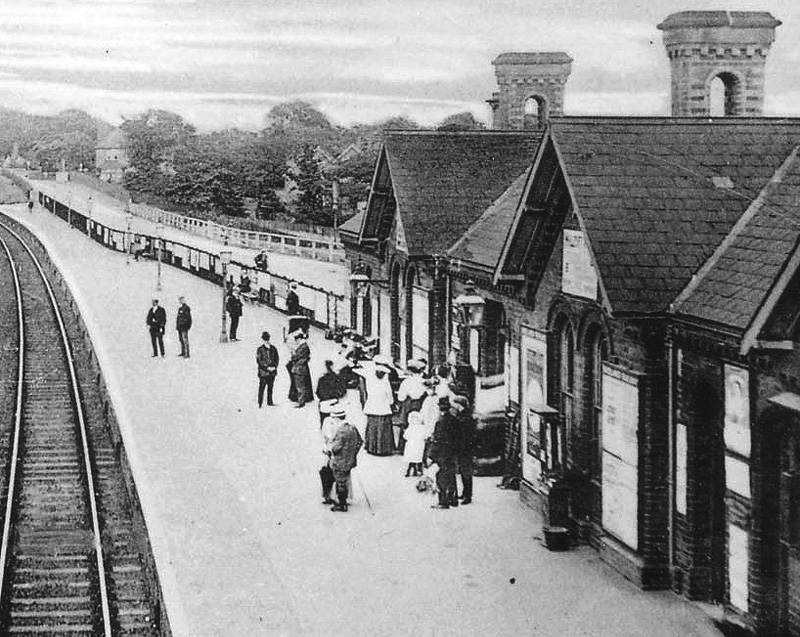 Kings Norton Station Close Up Showing The Main Station