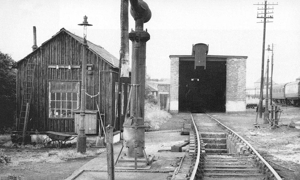 Redditch Station A 1952 View Of Redditch Engine Shed Its
