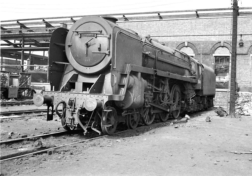 Saltley Shed: - British Railways Standard Class 7P
