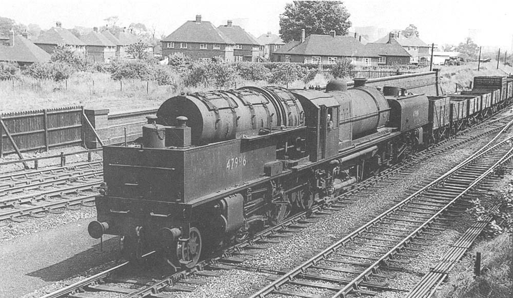 Rail Photo LMS MR Ambergate station Derbyshire