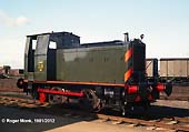 Army 221 � an unusual loco in that it was 'home' built at the Bicester Army workshops in 1955, although using some Andrew Barclay parts