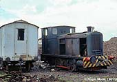 Andrew Barclay 0-4-0 diesel loco works no. 325 of 1937, former Army 121 from Hilsea Ordnance Depot, Hants.