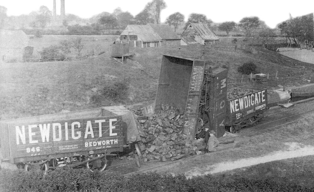 Newdigate Colliery The Second Of A Set Of Five Photos Of