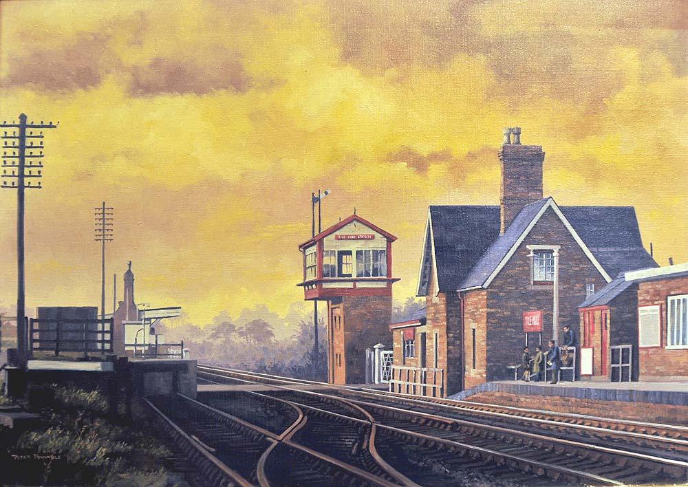 Warwickshire Railways: Rail Art - Peter Annable GRA - Tile ...