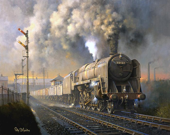 Warwickshire Railways Art - Philip Hawkins FGRA - Battle ...