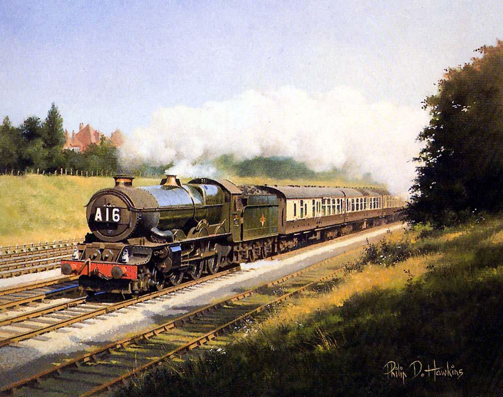 Warwickshire Railways Art Philip Hawkins Fgra