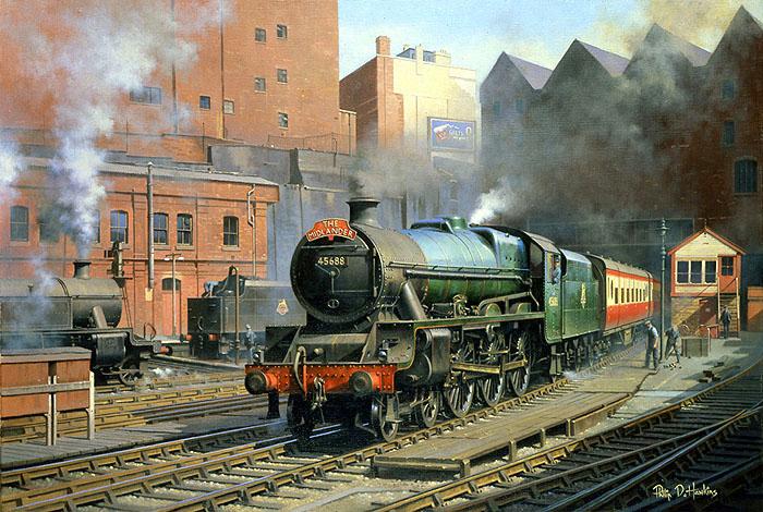 Warwickshire Railways Art Philip Hawkins Fgra The