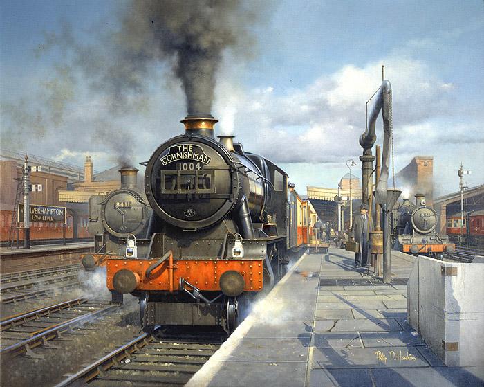Railway Art Warwickshire Railways